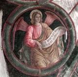 Borlone G. sec. XV, Angelo con cartiglio 4/4