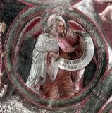 Borlone G. sec. XV, Angelo con cartiglio 3/4