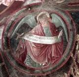 Borlone G. sec. XV, Angelo con cartiglio 2/4