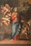 Ambito lombardo sec. XVII, Madonna e angeli
