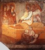 Maestro della vita di Cristo sec. XIII-XIV, Pie donne al sepolcro