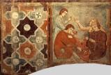 Maestro della vita di Cristo sec. XIII-XIV, Soldati si giocano a dadi