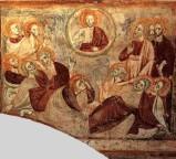 Maestro della vita di Cristo sec. XIII-XIV, Ascensione di Gesù Cristo