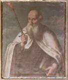 Ambito lombardo sec. XVIII, Santo carmelitano con spada