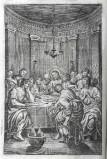 Ambito veneziano sec. XVII, Ultima cena