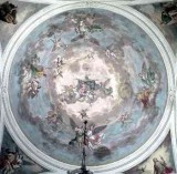 Brighenti G. sec. XIX, Gloria di San Gallo tra angeli