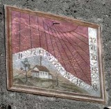 Brighenti G. sec. XIX, Meridiana dipinta 1/3