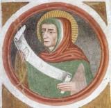 Maffiolo da Cazzano sec. XV, Profeta 3/9