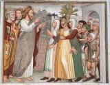 Maffiolo da Cazzano sec. XV, Cristo e l'indemoniata