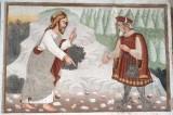 Maffiolo da Cazzano sec. XV, Cristo tentato da Satana