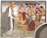 Maffiolo da Cazzano sec. XV, Moltiplicazione dei pani
