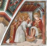 Maffiolo da Cazzano sec. XV, Lavanda dei piedi