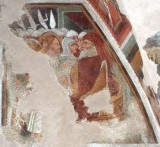 Maffiolo da Cazzano sec. XV, Cristo davanti ad Anna