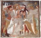 Maffiolo da Cazzano sec. XV, Gesù Cristo davanti a Erode