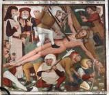 Maffiolo da Cazzano sec. XV, Cristo inchiodato alla croce
