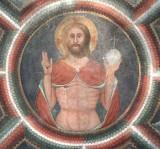 Maffiolo da Cazzano sec. XV, Cristo redentore benedicente