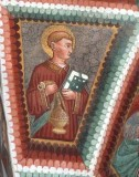 Maffiolo da Cazzano sec. XV, Santo diacono con turibolo