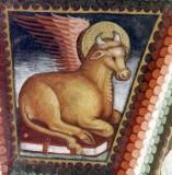 Maffiolo da Cazzano sec. XV, Simbolo di San Luca