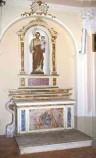 Ambito lombardo sec. XIX, Altare di San Giuseppe