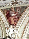 Calandra G.B.-Ceresa C. sec. XVII, S. Luca evangelista con bove alato