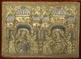 Manifattura veneziana sec. XV, Santa Lucia e Santa Caterina