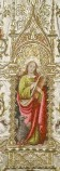 Manif. lombarda sec. XIX-XX, San Giovanni Evangelista entro edicola