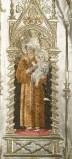 Manif. lombarda sec. XIX-XX, Sant'Antonio di Padova entro edicola