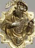 Bottega veneta (1619), San Giovanni Evangelista volto a sinistra