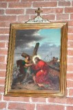 Acerbi E. sec. XIX-XX, Gesù Cristo aiutato dal cireneo a portare la croce