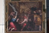 Sacchi C. sec. XVII, S. Siro fa innalzare il Crocifisso