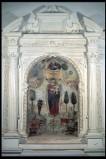 Maestranze italiane sec. XVI, Altare con colonne scanalate