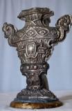 Bott. marchigiana sec. XVIII-XIX, Vaso portapalma in argento 3/6