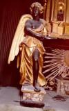 Bott. marchigiana sec. XVII, Angelo dell'altare del Sacramento 3/4