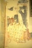 Scuola di Camerino sec. XV, Madonna con manto bianco e Bambino
