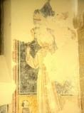 Scuola di Camerino sec. XV, S. Bernardino da Siena e donatore