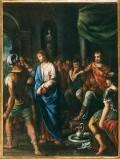 Ambito pesarese sec. XVII, Gesù condannato a morte
