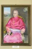 Bottega marchigiana sec. XX, Cornice in legno modanato e dipinto