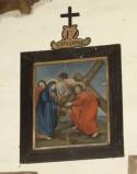 Ambito piemontese sec. XVIII, Via Crucis stazione IV