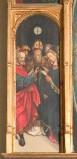 Ambito piemontese sec. XVI, Sposalizio di Maria Vergine