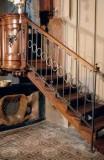 Ambito piemontese secc. XVIII-XIX, Ringhiera di scala