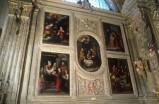 Ambito piemontese (1617), Cornice di stucco con cherubini 1/2