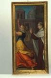 Alberini G. secc. XVI-XVII, Santo carmelitano che scaccia demonio