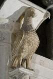 Scultore dell'Italia meridionale sec. XIII, Scultura con aquila