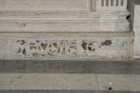 Scultore dell'Italia meridionale sec. XIII, Lastra con decoro a girali