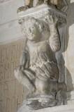 Scultore dell'Italia meridionale sec. XIII, Scultura con telamone