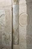 Scultore dell'Italia meridionale sec. XIII, Colonna liscia