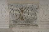 Scultore dell'Italia meridionale sec. XIII, Cornice con motivo vegetale