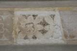 Scultore dell'Italia meridionale sec. XIII, Cornice con fiori
