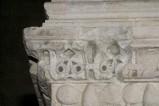 Scultore dell'Italia meridionale sec. XIII, Cornice con decoro a palmette