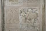 Scultore dell'Italia meridionale sec. XI, Pluteo con leone e toro